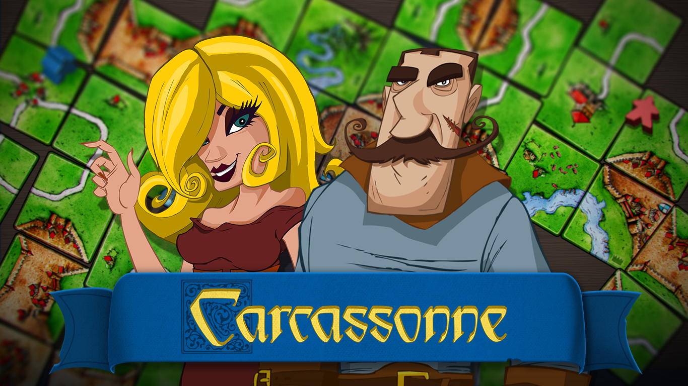 Carcassonne- screenshot