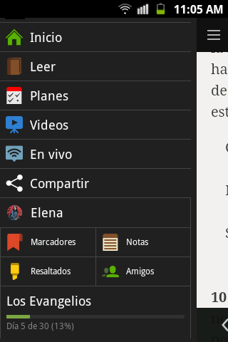 Biblia - screenshot