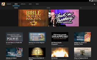 Screenshot of Lamb & Lion Ministries