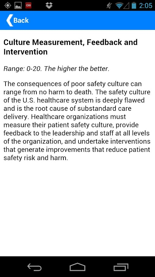 Leapfrog Hospital Safety Score - screenshot