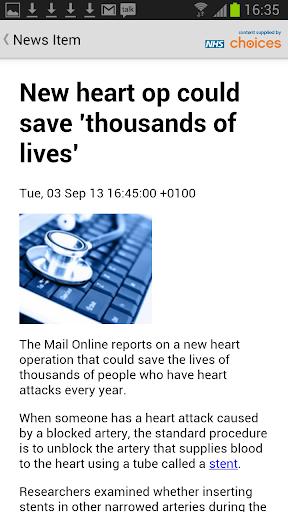 Latest Health News