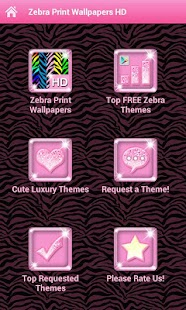 ★Custom Zebra Wallpaper Themes - screenshot thumbnail