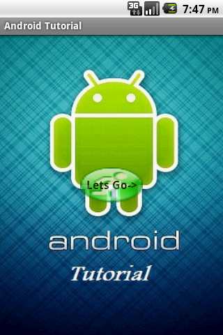 Tutorial for Android