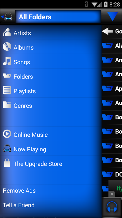 BoomCap Music Player - screenshot