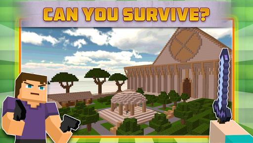 Cube Gun Survival Games