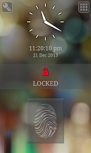 Fingerprint/Keypad Lock Screen - screenshot thumbnail