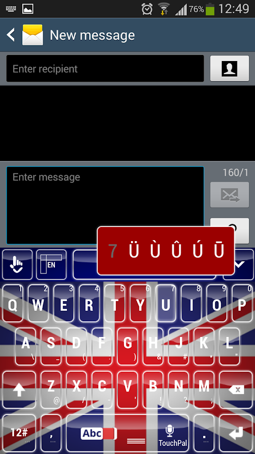 Appin United Kingdom  City pictures : United Kingdom Keyboard screenshot