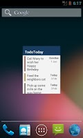 Screenshot of TodoToday for Toodledo