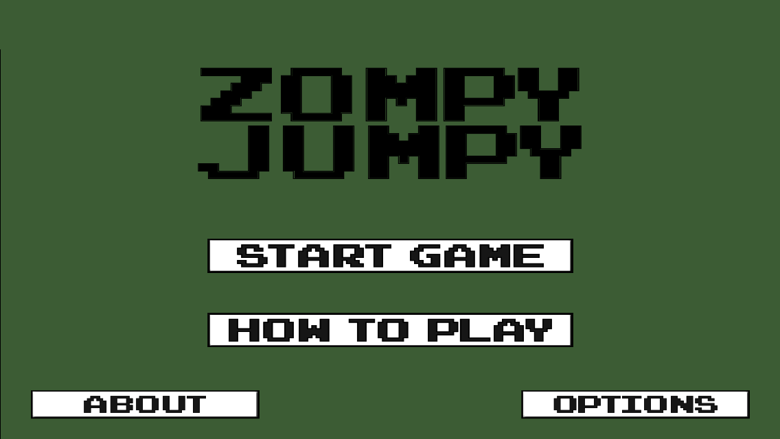 Zompy Jumpy -Run & Jump Zombie Survival Indie Game- screenshot