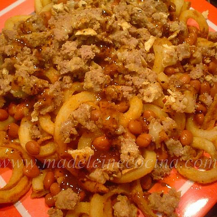 Potato and Bean French Fries Recipe