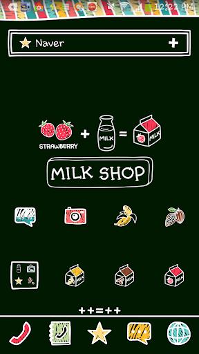 milk shop dodol theme