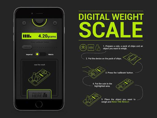 Digital Scale - simulator app