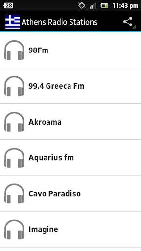 Athens Radio Stations
