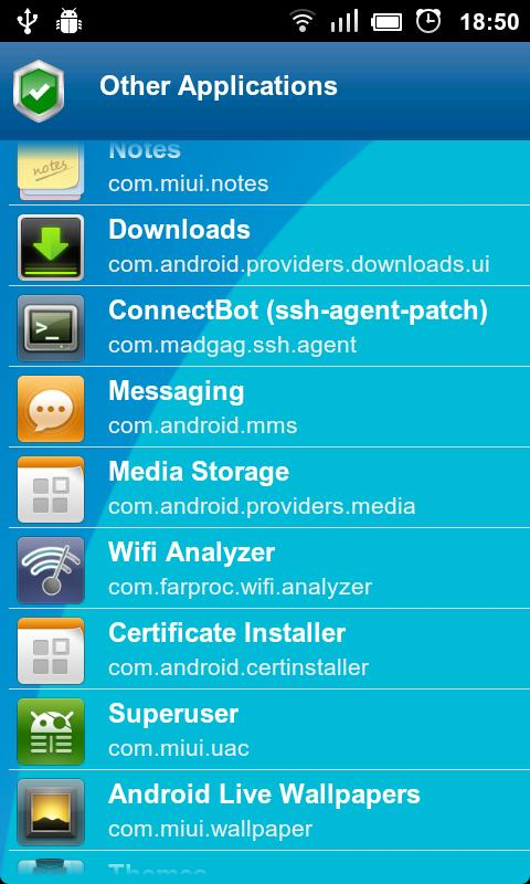 Anti Spy Mobile PRO Screenshot 3