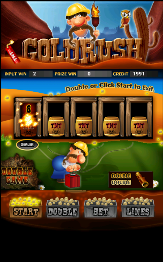 Gold Rush Slot Machine HD- screenshot