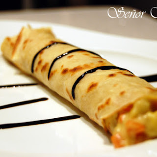 Vegetable Crepes.