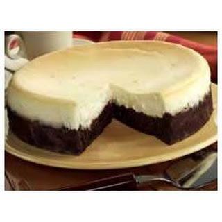 Brownie Bottom Cheesecake.