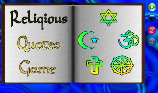 Religious Quotes Quiz