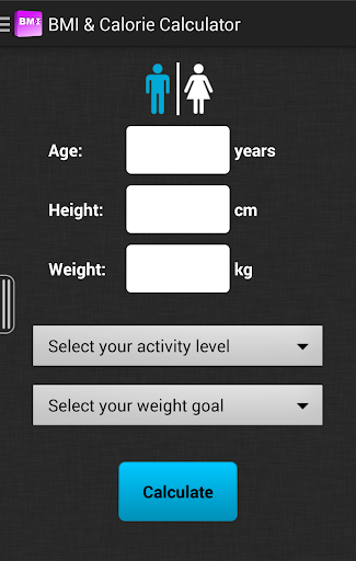 BMI Calorie Calculator