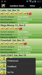 New Jersey Lottery Droid Lite - screenshot thumbnail