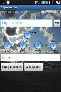 City - Weather - screenshot thumbnail
