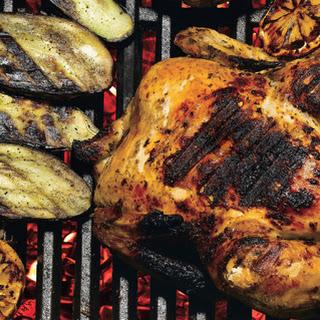 Sicilian Grill-Roasted Chicken