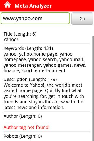 Pocket SEO- screenshot