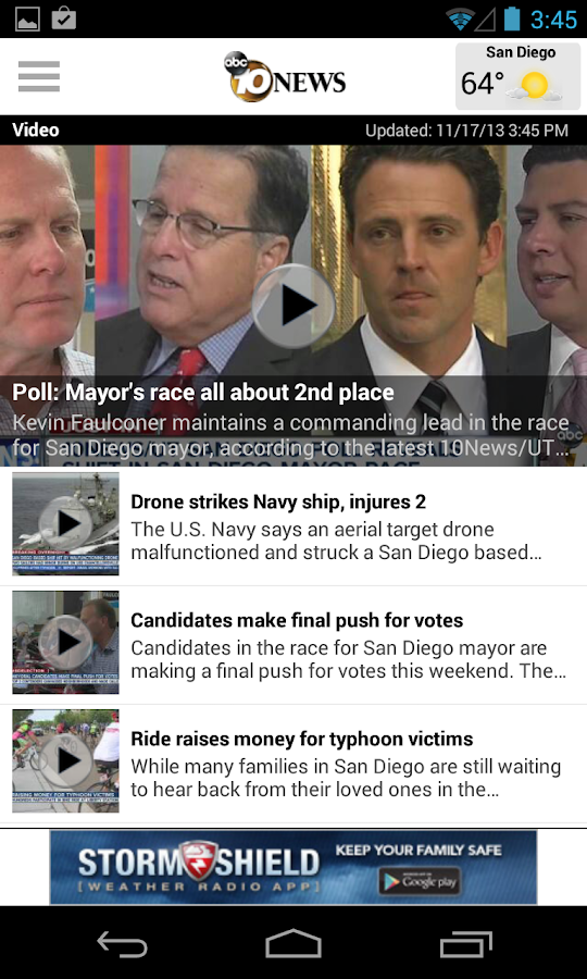 10News San Diego - screenshot