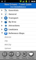 Screenshot of New Orleans, USA - Guide & Map