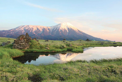 Volcano-Tolbachik-Russia - Silver Discoverer takes you to discover the enchantment of Volcano Tolbachik on the Kamchatka Peninsula in far eastern Russia.