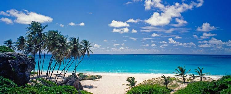 A beautiful beach on Barbados.