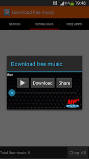 Download free music app - screenshot thumbnail