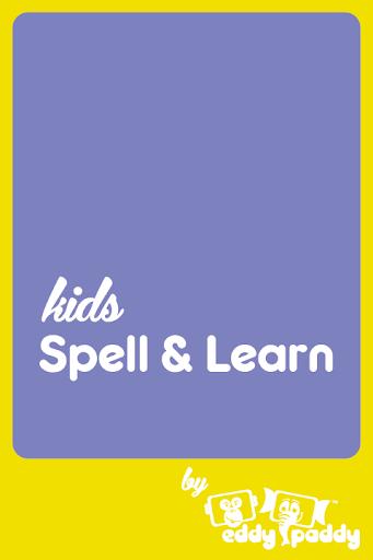 Kids Spell Learn Flowers
