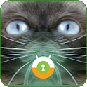 Blue Cat Wall & Lock icon