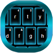 Blue Neon GO Keyboard