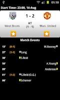 Screenshot of Football Live Score