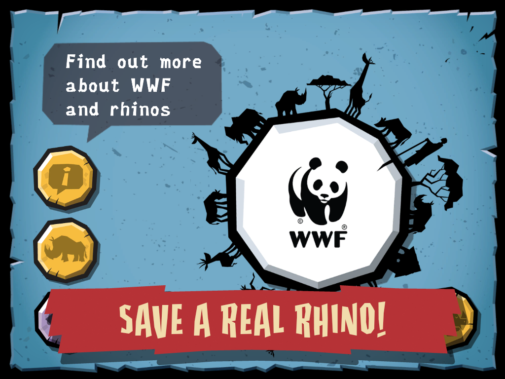WWF Rhino Raid- screenshot