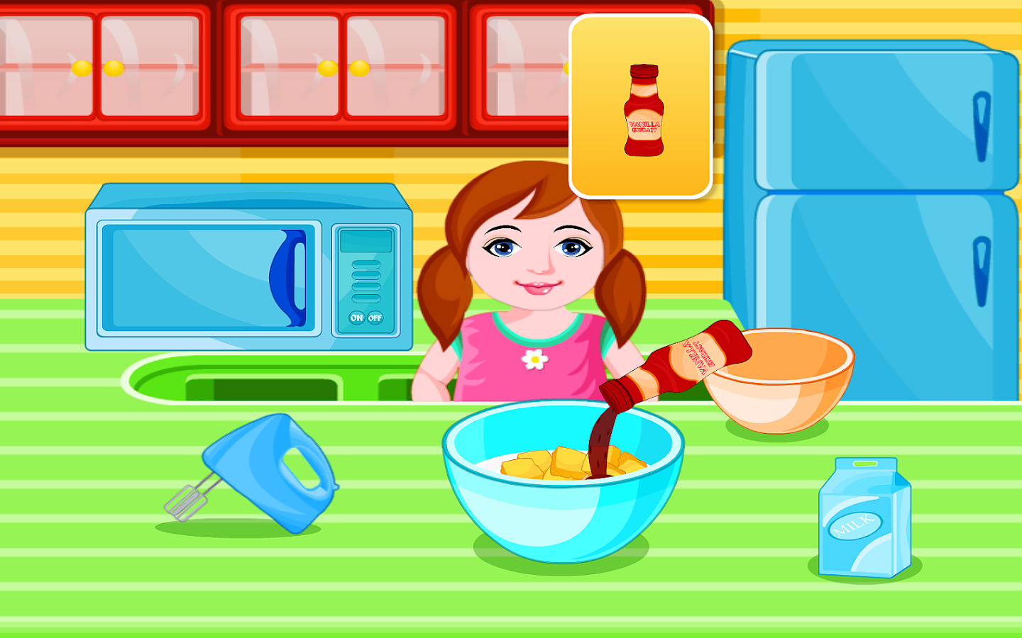 Pancy Cupcakes Cooking Games- screenshot