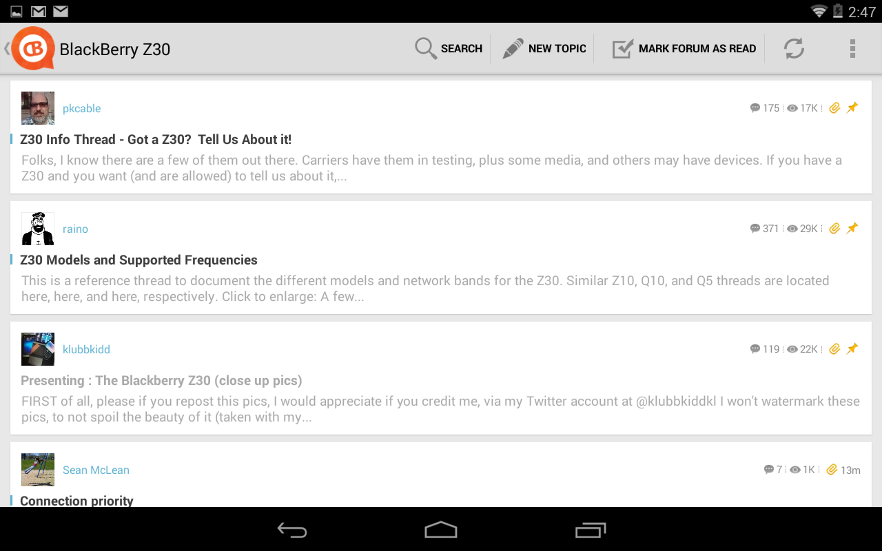 CrackBerry Forums - screenshot