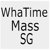 What Time Mass SG