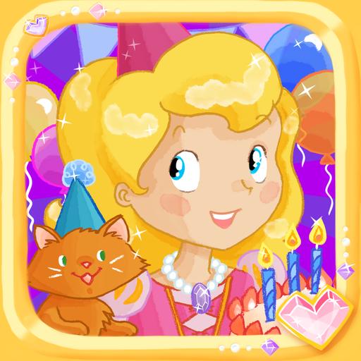 プリンセスお誕生日パーティ-パズル 子供用! 教育 App LOGO-APP試玩