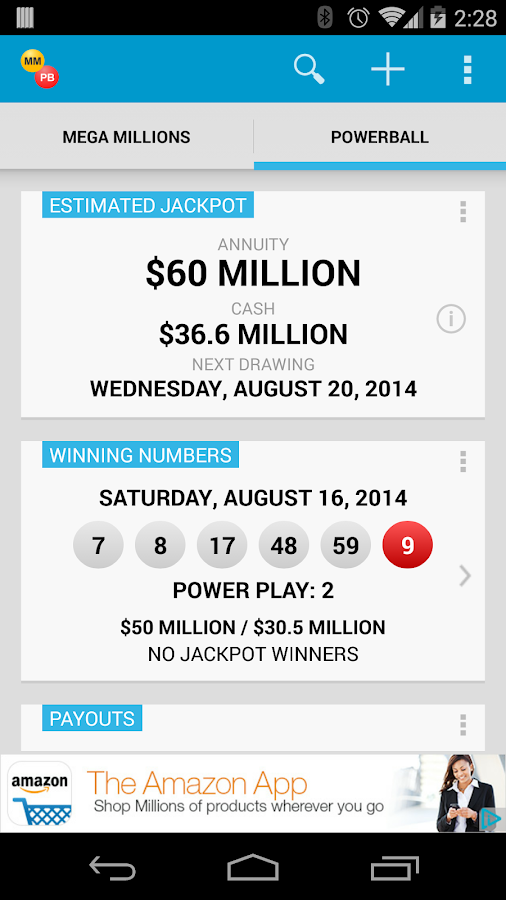 2 game parlay calculator payouts powerball