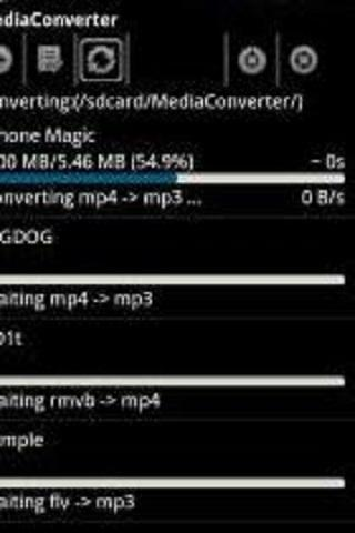 ffmpeg codec arm v5te- screenshot