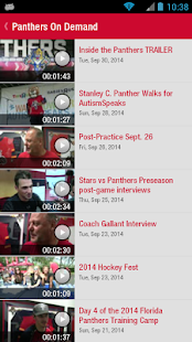 Florida Panthers Official App - screenshot thumbnail