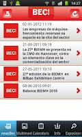Screenshot of BEC