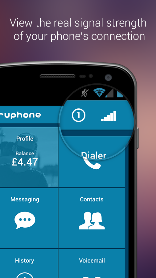 Truphone - screenshot