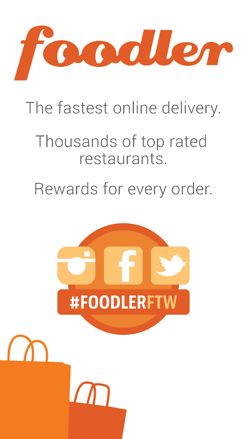 Foodler Food Delivery/Takeout - screenshot