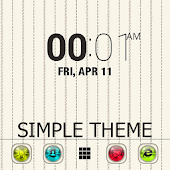 Simple Go launcher ex theme