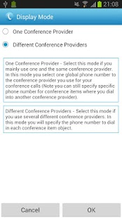 Conference Caller - screenshot thumbnail