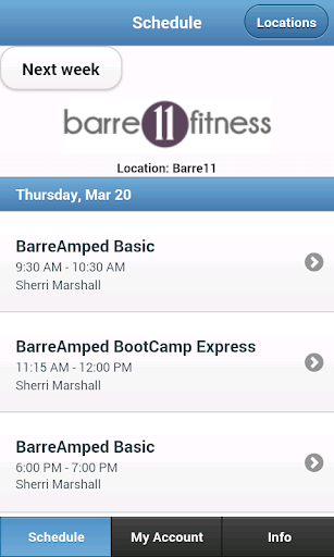 Barre 11 Fitness